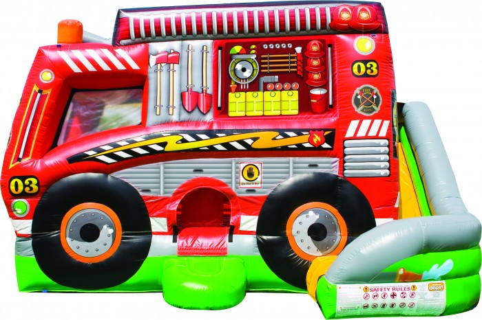 Pin-Pon fire truck