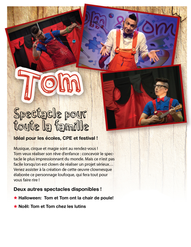 Spectacle #1: Tom