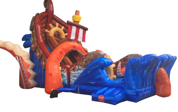Wreck 2 Slide and Obstacles